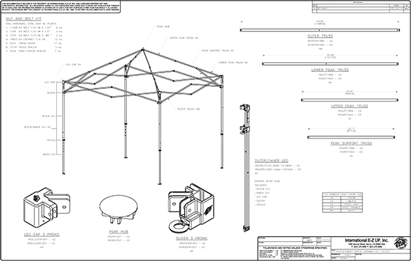 Pyramid Parts  sc 1 st  EZ Up Canopies & EZ Up Canopy Shelter Parts