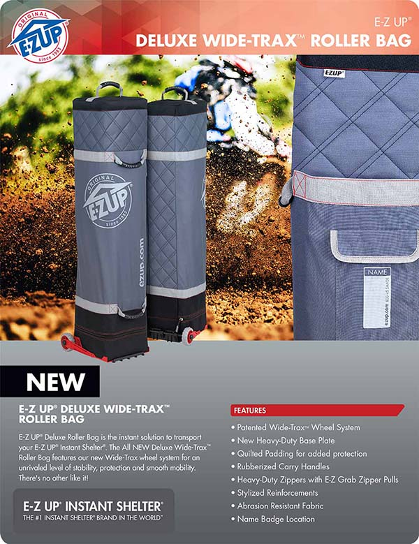 G3 Deluxe Wide Trax Roller Bag