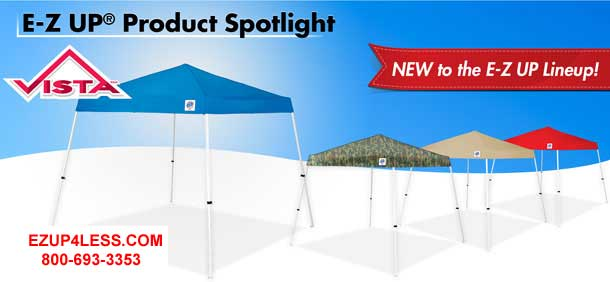 ... EZ UP CANOPIES. 12u0027 x 12u0027 Vista Swift and Sprint  sc 1 st  EZ Up Canopies & Ez Up Canopy Tents