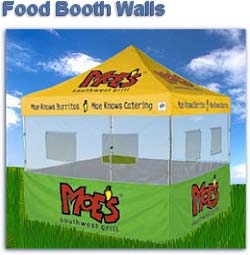 EZ UP Food Booth Walls 8u0027  sc 1 st  EZ Up Canopy Tents & 8X8 8 x 8 Ez Up Canopy Tent